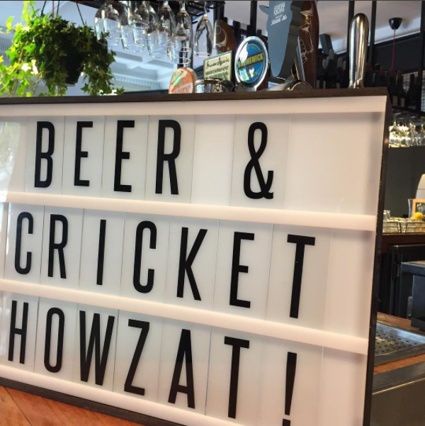 Beer & cricket: Howzat!?