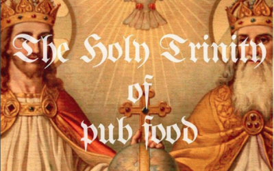 $10 BURGER, PARMA, FISH & CHIPS… THE HOLY TRINITY OF PUB FOOD FOR TEN BUCKS EVERY MONDAY MIDDAY TIL 9PM