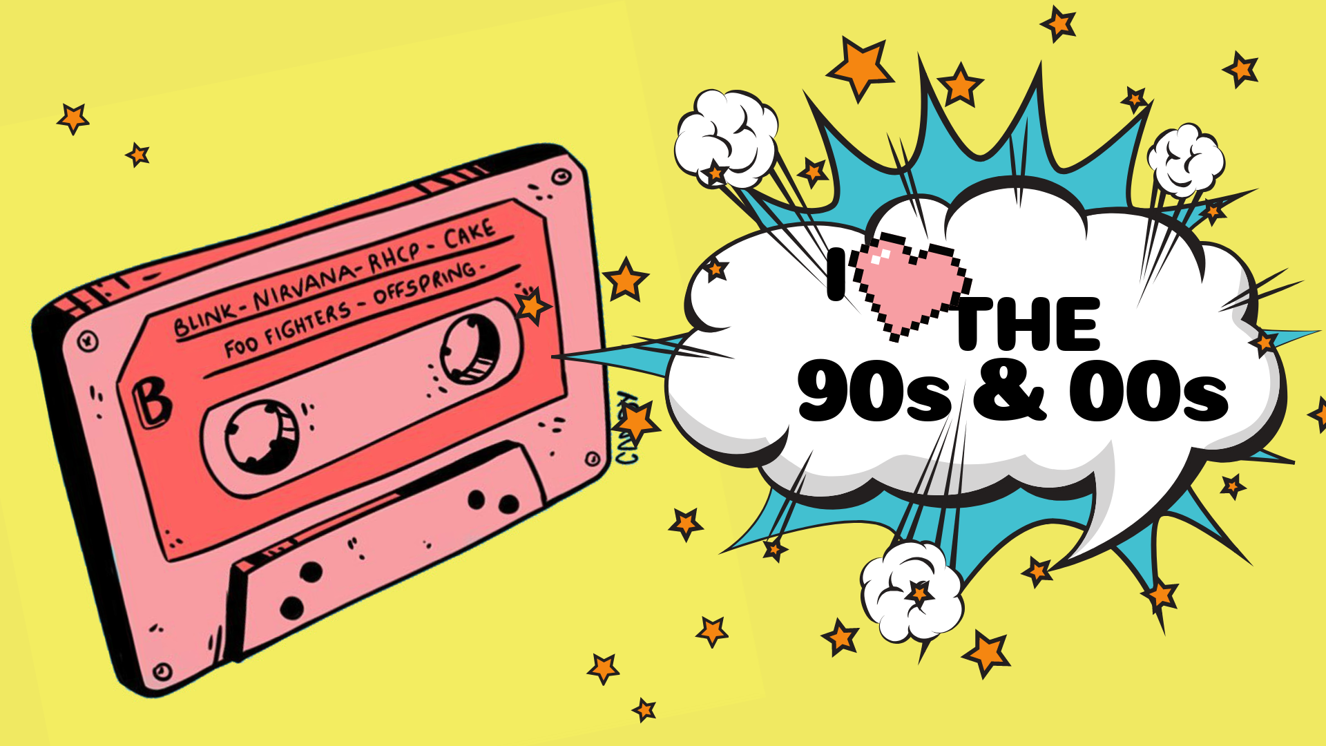90s & 00s Anthems, Bangers & Novelty Songs Spectacular